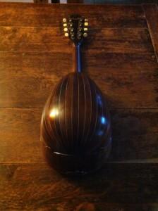Mandoline Zimmermann vue de dessous